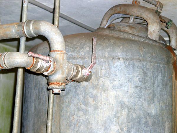 Pumpenhaus vorher - Wasser-Genossenschaft Ellerhoop eG